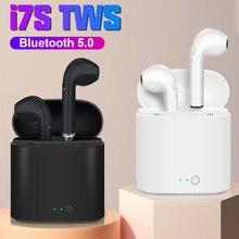 I7s TWS casque sans fil Bluetooth écouteur dans loreille stéréo écouteurs mains libres affaires casque pour tous les téléphones intelligents