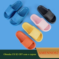 Шлепанцы женские на платформе, пляжные сандалии, Эва, сланцы, уличные тапочки, плоская подошва, летняя обувь