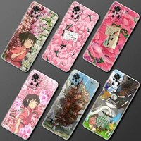 transparent phone case for xiaomi redmi note 9s 10 pro 9t 9 8 9c 8t 7 7a shell clear soft cover spirited away totoro