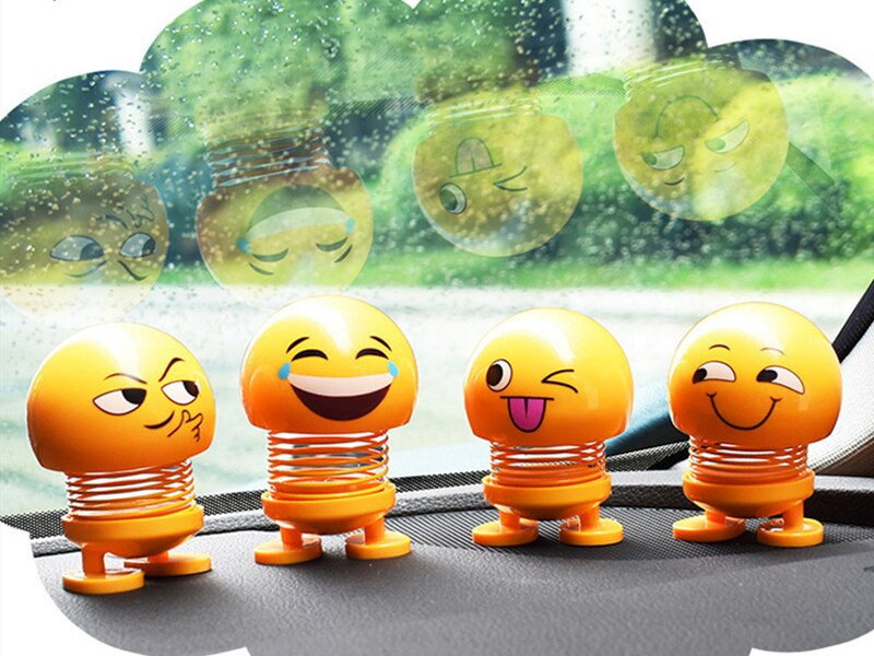 Забавная кукла с вращающейся головой маленькие украшения Прекрасные автомобильные аксессуары интерьерная кукла креативные автомобильные...