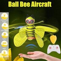 Мини-Дрон Индукционная пчела летающая фея самолет для детей дропшиппинг вертолет летающий мяч игрушки для мальчиков и девочек