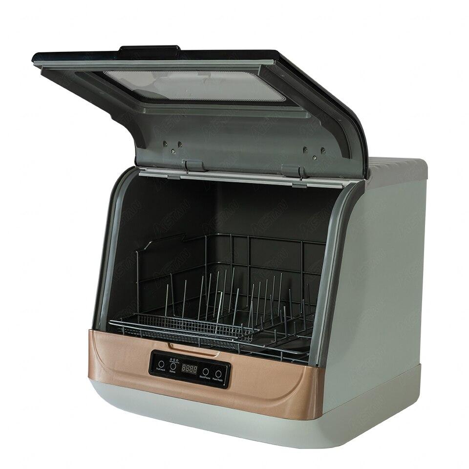 DWS-T05 Mini Home Dishwasher Washing Desktop Dish Washer Portable
