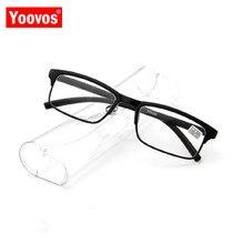 ¡Novedad del 2020! Gafas De lectura clásicas para hombre De Yoovos, Gafas De lectura clásicas para hombre, Gafas sencillas De moda Retro para Mujer