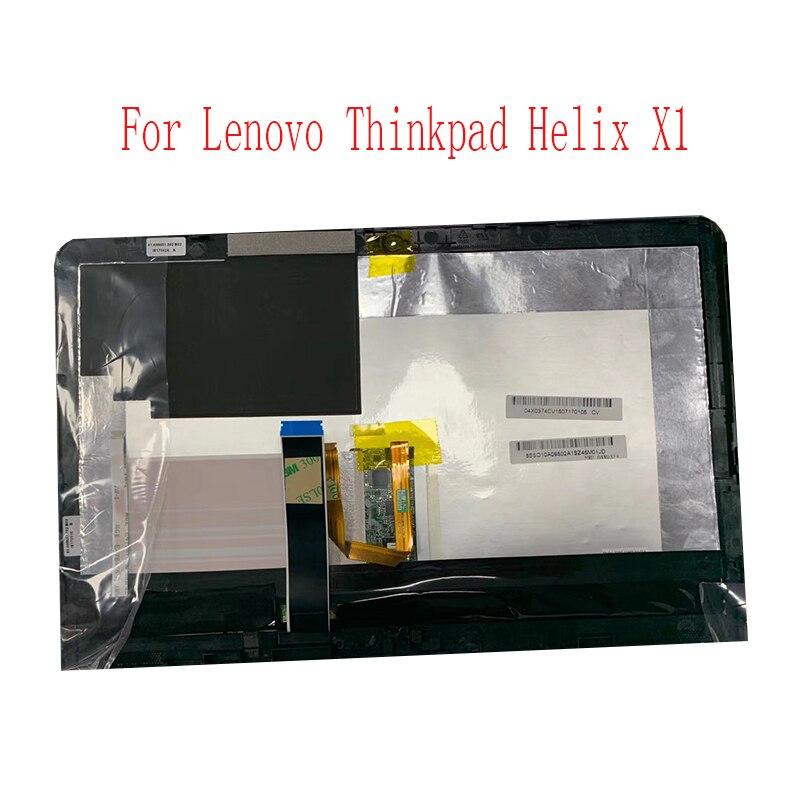 """Para lenovo thinkpad x1 helix 11.6 """"painel de toque tela lcd SU6E-11H05AU-01A testado"""