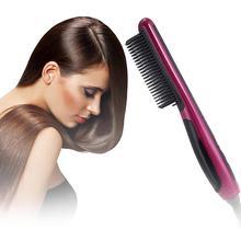 Multifunctional Beard Straightener Styler Brush Electric Hair Machine Care Straightener Hot Men Hair