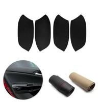 for honda accord 8th gen 2008 2009 2010 2011 2012 sedan car interior door handle panel microfiber leather cover decor