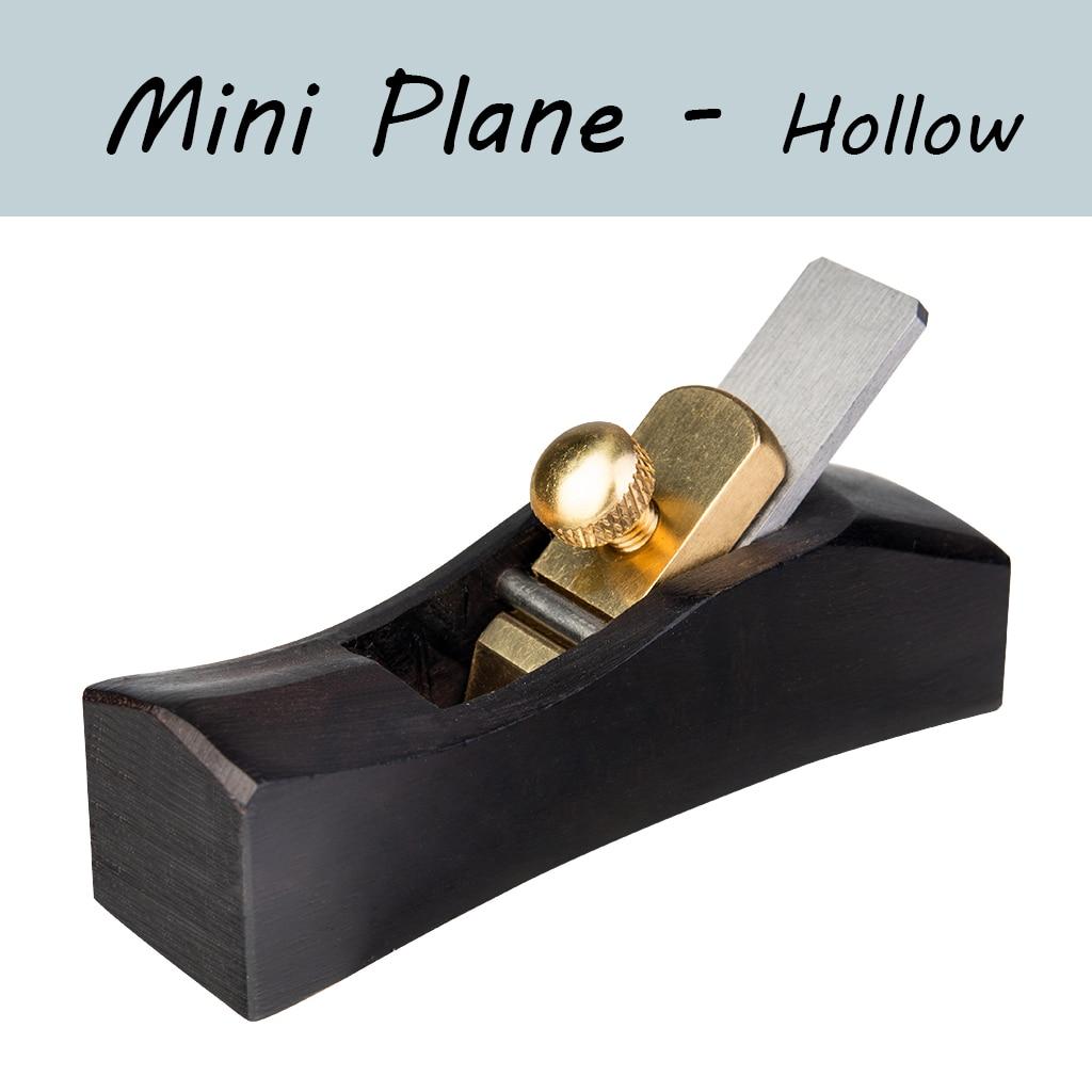 European-Style Ebony Mini Plane Woodworking Tools DIY Violin Viola Cello Use