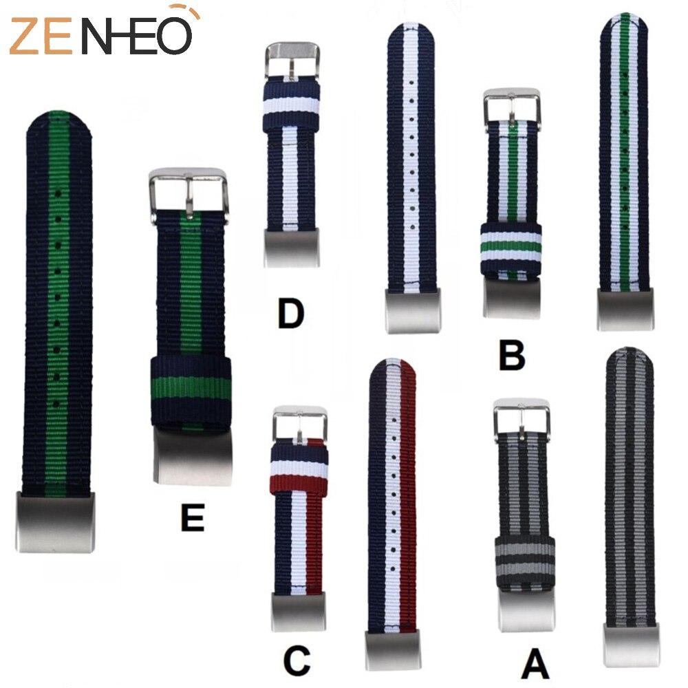 Pulsera para Fitbit Charge 2, Correa deportiva de nailon tejido para pulsera inteligente Fitbit Charge 2, accesorios para reloj inteligente