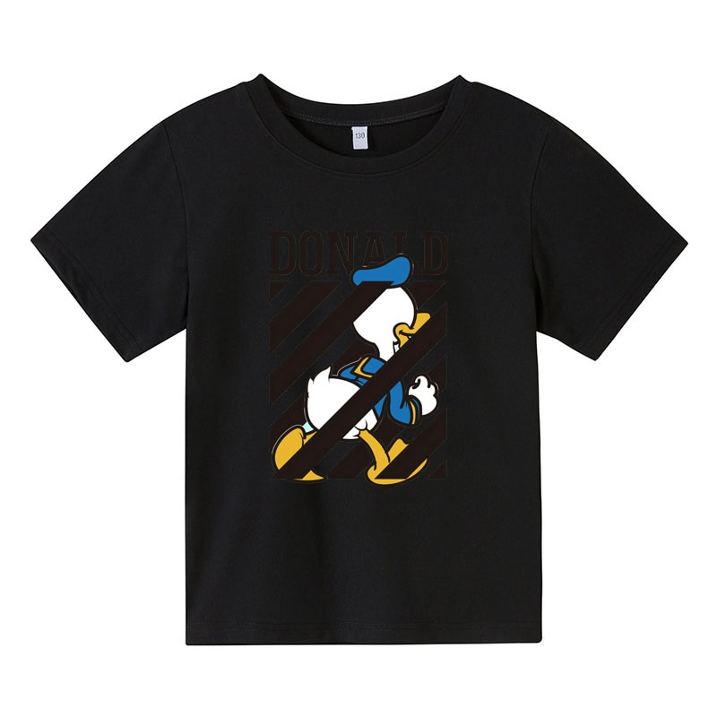 Fashion Summer T-Shirt for Girls cartoon  mouse print  Boys Short Sleeve Tee Tops Kids Cartoon Printing Clothes Children