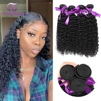 peruvian kinky curly 134 bundles 100 human hair extensions free shipping non remy hair weave bundle deals trendy beauty