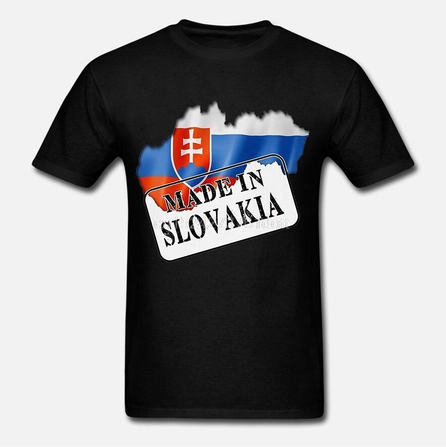 Hecho en Eslovaquia-Bandera y mapa-Señoras T Shirt-regalo
