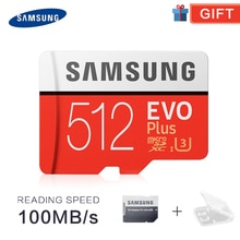 SAMSUNG TF cartes SD Trans Flash carte mémoire Microsd Micro SD 32GB 64GB 128GB tf 256GB 512G SDHC SDXC Grade EVO + classe 10 C10 UHS