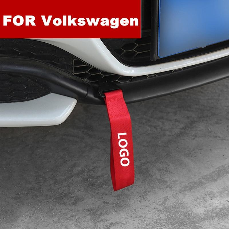 ¡Nuevo! Estilo de coche, cuerdas de remolque pesadas, correa de remolque para coche, cuerda de remolque para volkswagen polo golf 3 4 5 6 7 t5 b4 b5 b6 b7