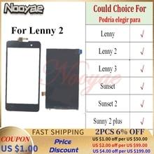 ЖК дисплей для Wiko Lenny 2 3 Sunset Sunny 2 Plus, сенсорный экран, сенсорная панель для Micromax Spark 2 Q334 Bolt D303