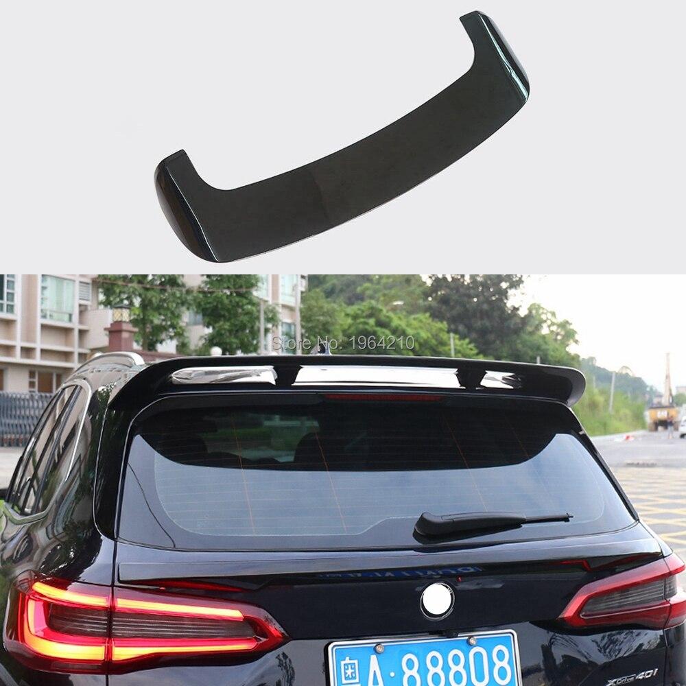 ABS Plastic Painted Black White Color Rear Spoiler Trunk Boot Wing Lip Roof Spoiler For BMW X5 spoiler G05 spoiler 2018-2020