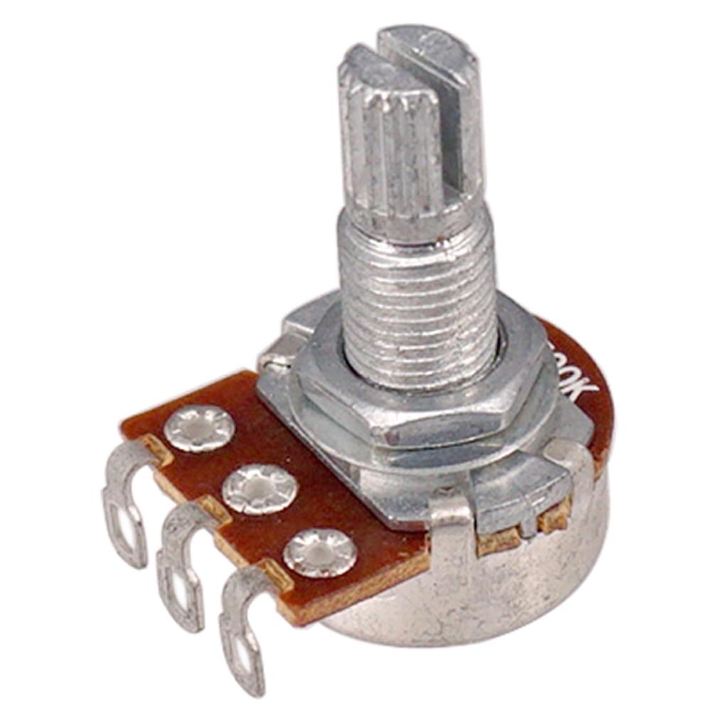 Potenciómetro de guitarra A50K & B50K audio ohm mini ollas para guitarra eléctrica paquete de 4