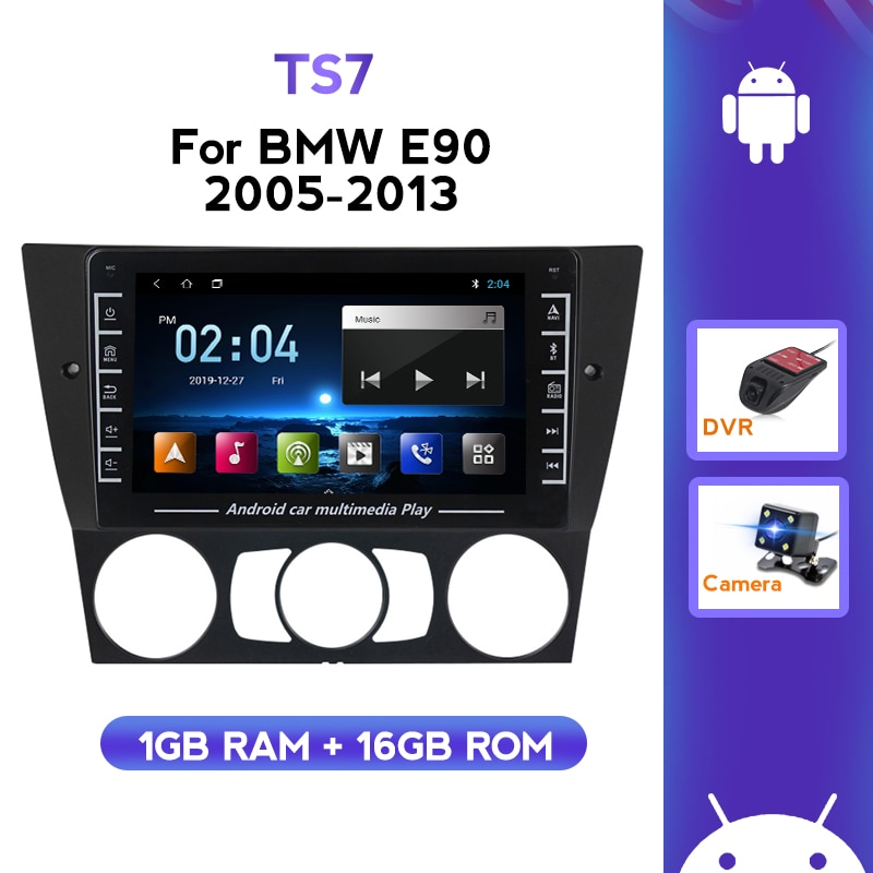 1280X720 Android GPS Navigation WIFI BT Für BMW 3 Serie E90 E91 318i 320i 2005-2013 Auto Radio Multimedia player KEINE DVD
