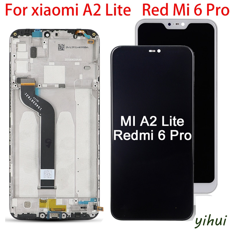 10-Touch Original For Xiaomi Redmi A2 lite LCD Display Screen touch Digitizer Replacement Redmi 6 pro Display screen Assembly недорого