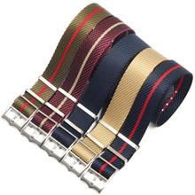 Premium-grade Nato Zulu Watch Strap 20mm 22mm Replacement Nylon Watch Strap For Tudor Nato Strap watch band