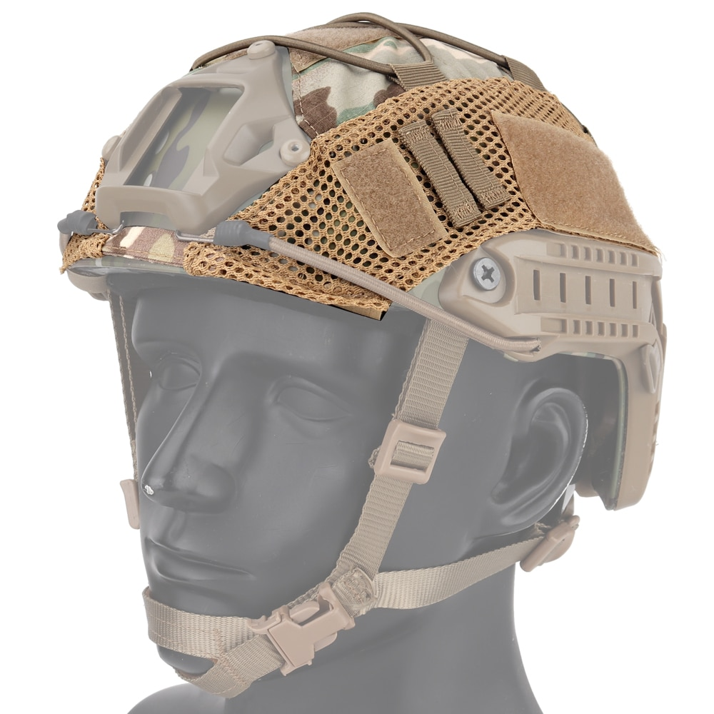 Tactical Helmet Cover for Fast MH PJ BJ Airsoft Paintball Army Military Hunting Accessories Equipment multicam Multicamo Mesh