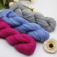 high quality soft cotton baby knitting wool yarn for knitting scarf sweater hand knitting crochet yarn hand knitting supplies