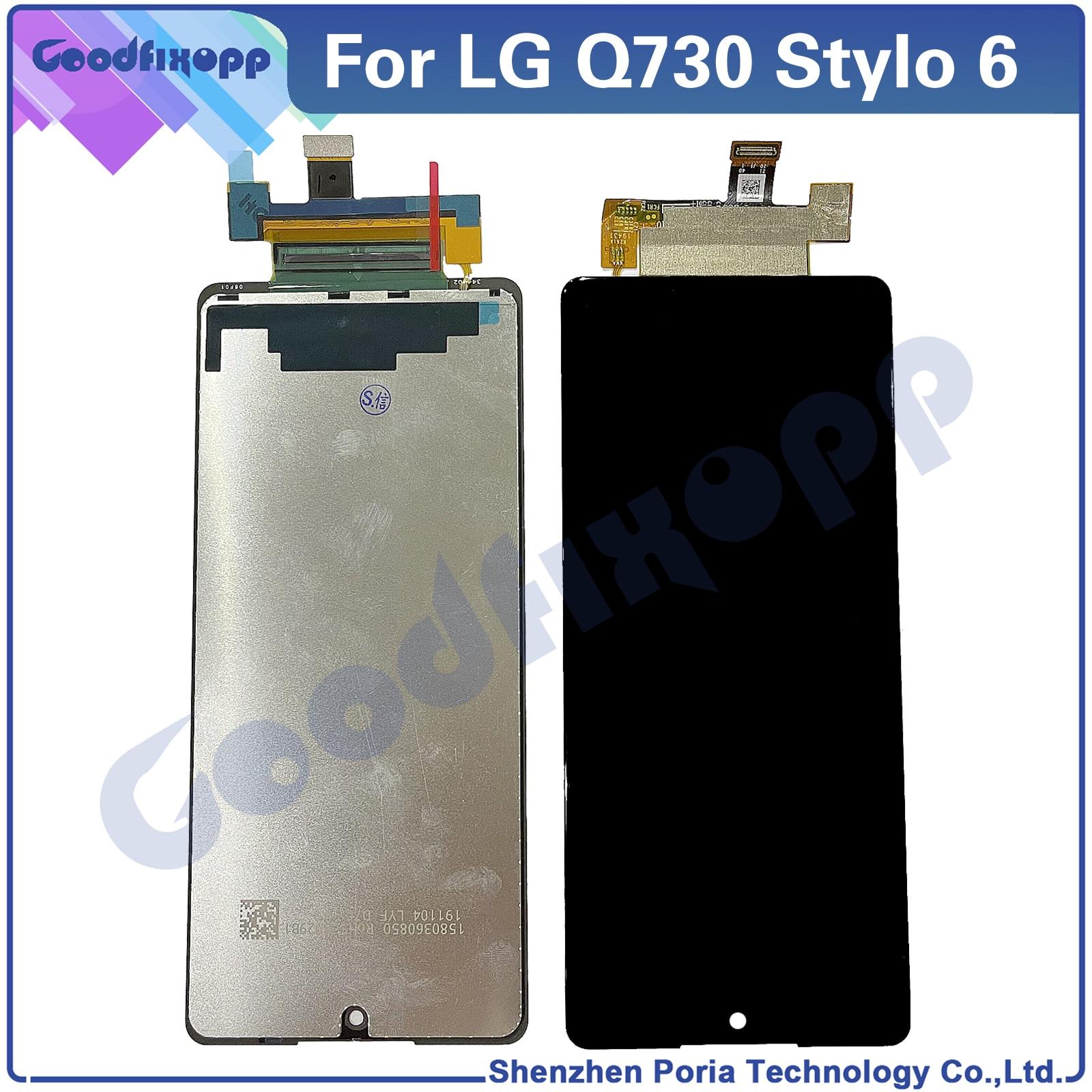 قطع غيار LCD أصلية لـ LG Stylo 6 Q730 ، قطع غيار LCD لـ LG Stylo 6 Q730AM Q730TM