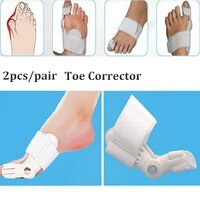 1 pair bunion splint big toe straightener corrector foot pain relief hallux valgus correction orthopedic supplies pedicure foot