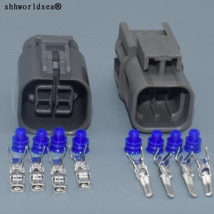 Shhworldsea-conector eléctrico a prueba de agua para coche, arnés de cableado con...