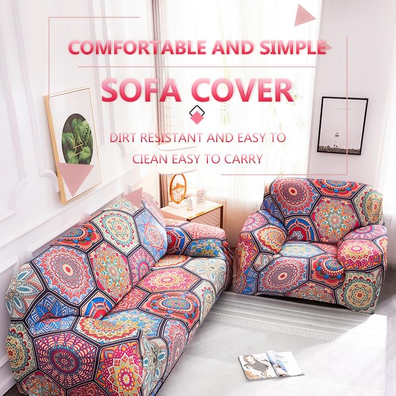 Meijuner بوهيميا مرونة غطاء أريكة القطن العالمي تمتد غطاء أريكة غرفة المعيشة واقية غطاء أريكة لغرفة المعيشة MJ437