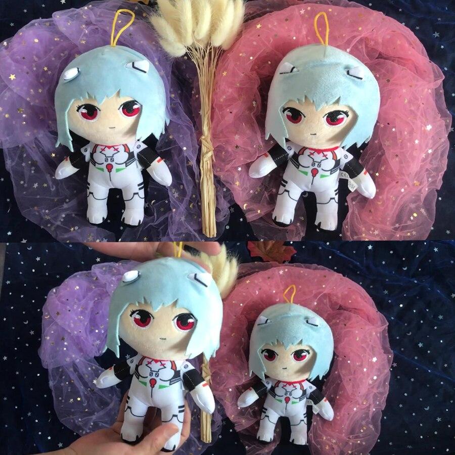 Аниме Плюшевые игрушки Рей, мягкие плюшевые игрушки, Рей, плюшевая кукла, кавайная Ayanami Mei, плюшевые игрушки, подушка принцессы, Рождественск...
