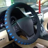 car steering wheel cover 5 colors new eva punching universal car steering wheel cover diameter 38cm automotive sup