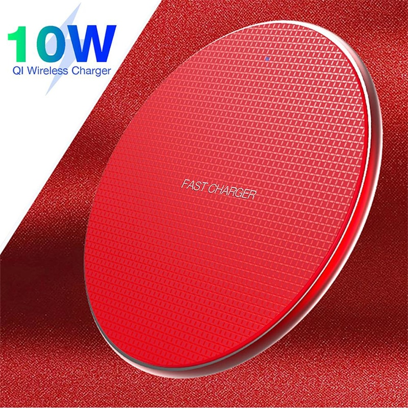 10W Fast Wireless Charger Holder Qi Quick Charge 3.0 Mobile Phone Charging Adapter For iPhone 12 11