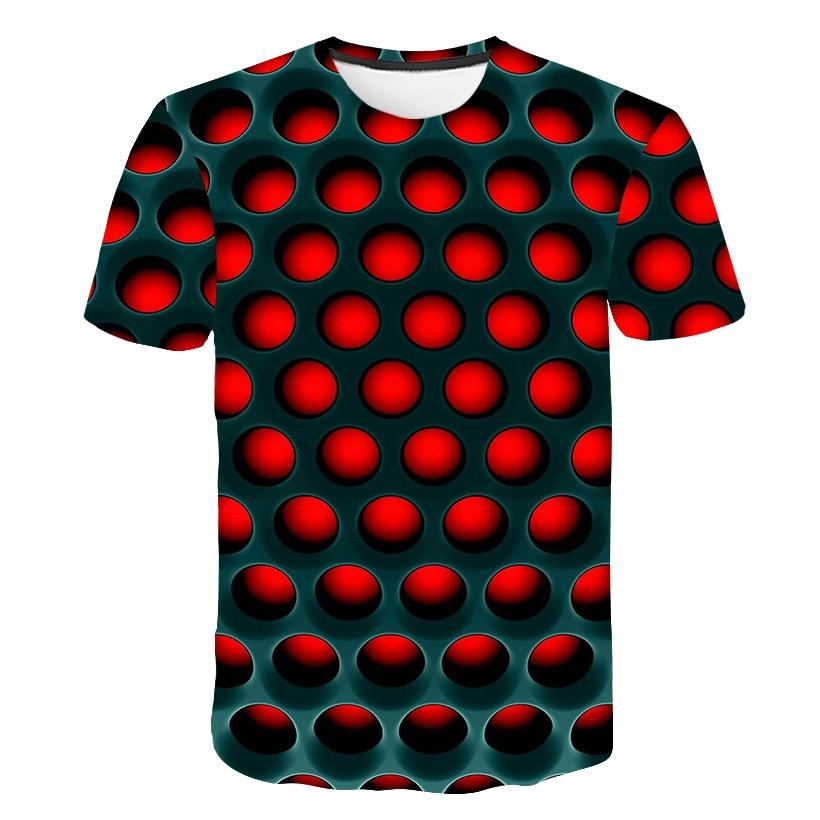 Футболка с 3D-принтом «огненный Феникс»; цветная футболка для мальчиков и девочек; летняя удобная детская толстовка с рукавами
