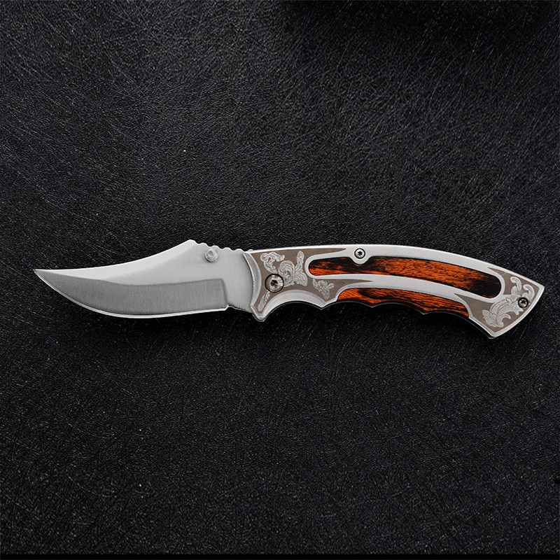 Folding Knife Tactical Knife Multifunctional Survival Folding Knife Wilderness Survival Knife Titanium Knife  Tactical Knife
