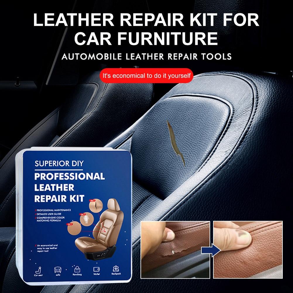 Новейший комплект для ремонта кожи, устройство для удаления царапин на автомобильном сиденье, средство для ремонта кожи, обновление дивана,...