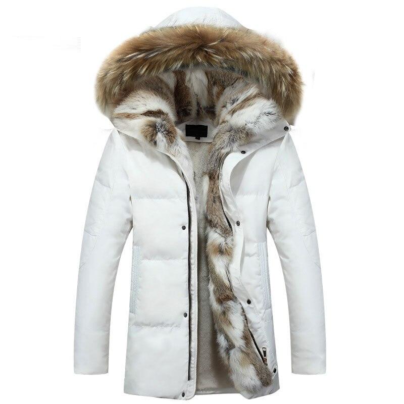 Abrigo tipo Parka para hombre y mujer de chaqueta de plumón con...