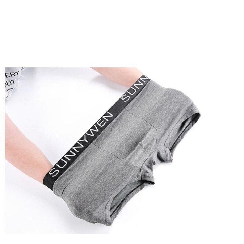 7PCS/Lot  Men Panties Shorts Underwear Boxer Shorts Men's sexy underwear High quality men's underwear Pouch
