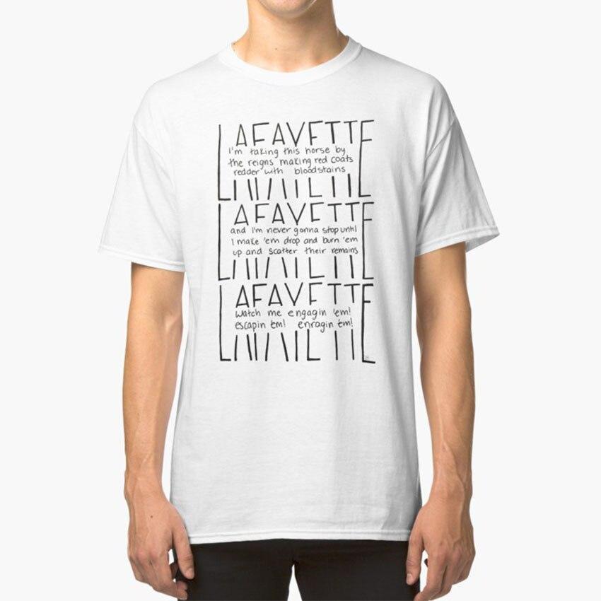 Lafayette-Letras T-Shirt Guns Guns & Navios E Navios Lafayette Marquês de Lafayette Musicais Da Broadway Daveed Diggs Letras