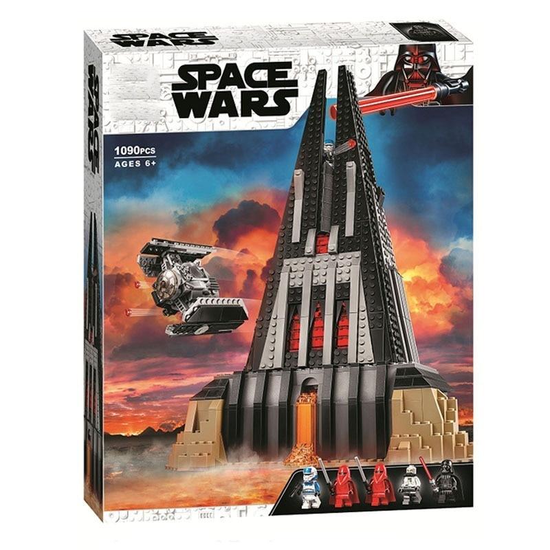 Lepinblock Star Wars Darth Castle Tie Fighter Bacta Tank And More Building Blocks Vaders Model Bricks Classic Toys For Children