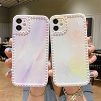 colorful cute cartoon pattern phone case for iphone 11 12pro max xr xs max x 7 8 plus se 2020 soft camera protective back cover