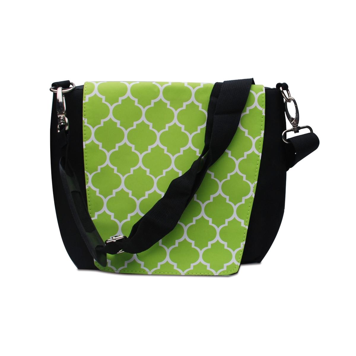 Retail Quatrefoil Camera Bag DOM113027 Travelling and Photography Shoulder Bag with Zipper Belt Lock