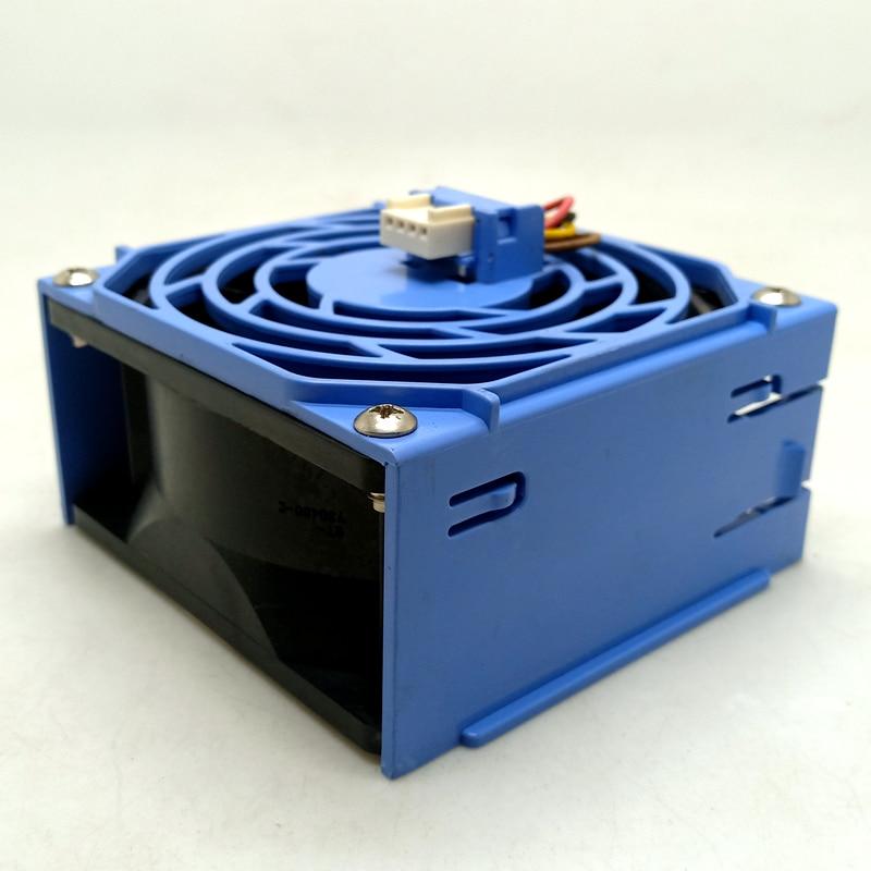 Para Sanyo 8038 12V doble bola PWM ventilador wave 4U servidor chasis ventilador