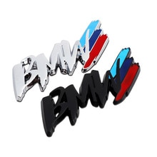 car Styling China net modified fender side logo car sticker decoration accessories For BMW m3 m5 1 3