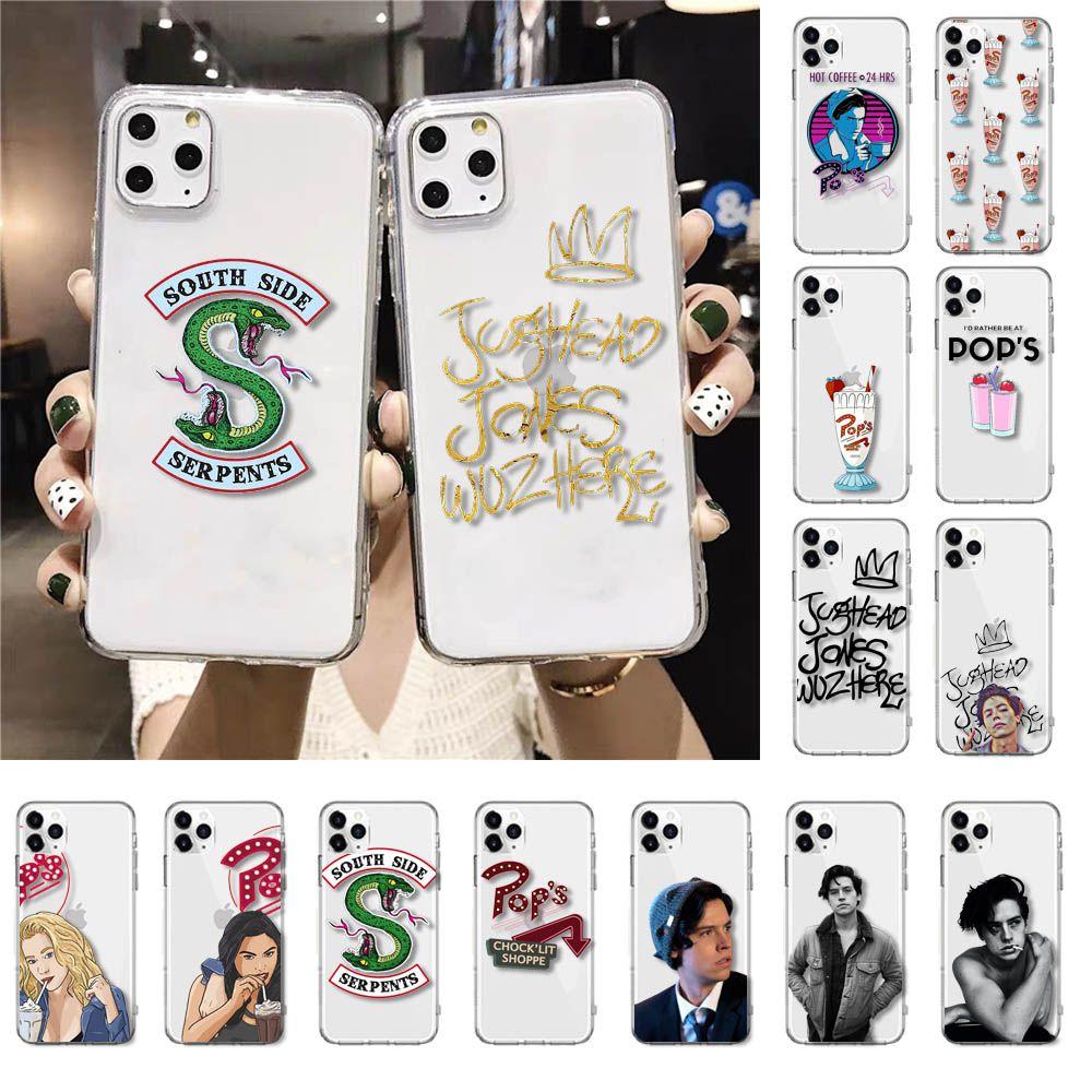 Yinuoda serie de televisión estadounidense de Riverdale, Betty y Veronica amigos funda para teléfono para iPhone 11 Pro XS MAX XR 8 7 6 6S Plus X 5 5S SE