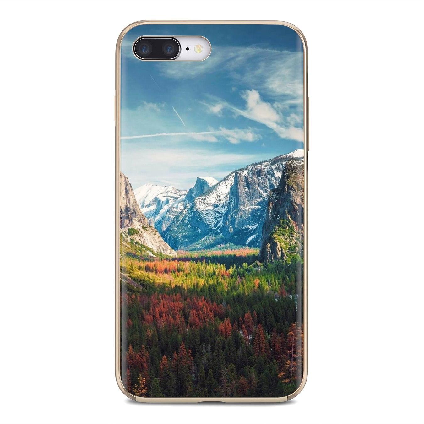 Funda de carcasa blanda Canadá cielo caminando en el monte Nimbus para Huawei Mate Honor 4C 5C 5X 6X 7 7A 7C 8 9 10 8C 8X 20 Lite Pro