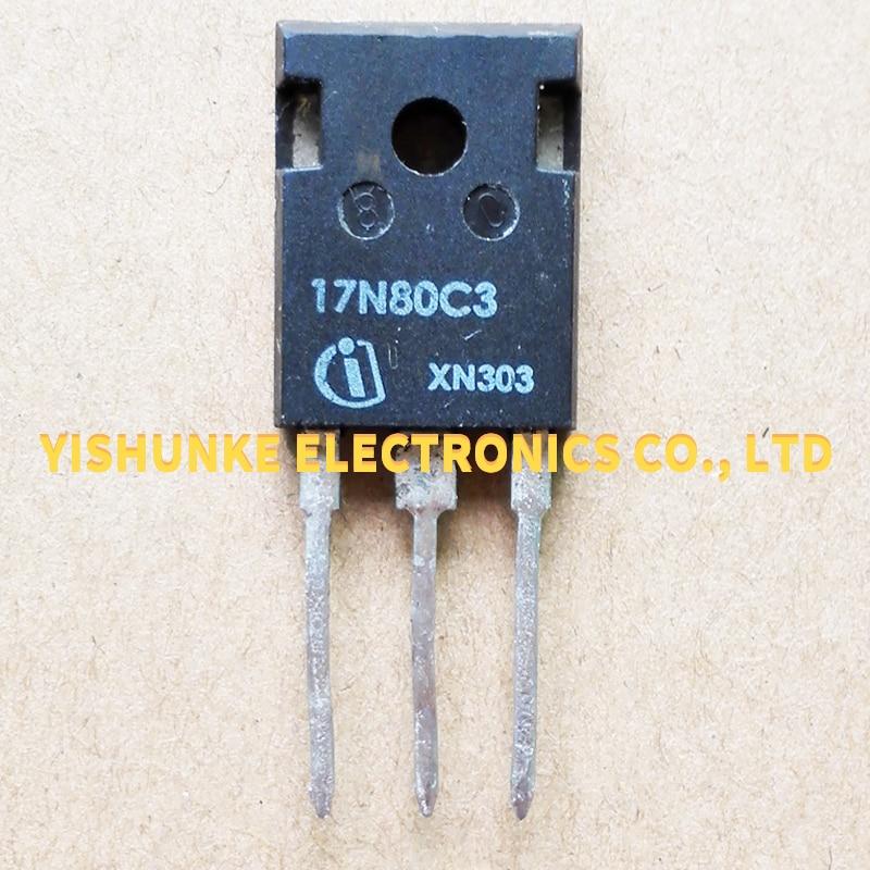 10PCS 17N80C3 SPW17N80C3 TO-247 MOSFET TRANSISTOR 17A 800V