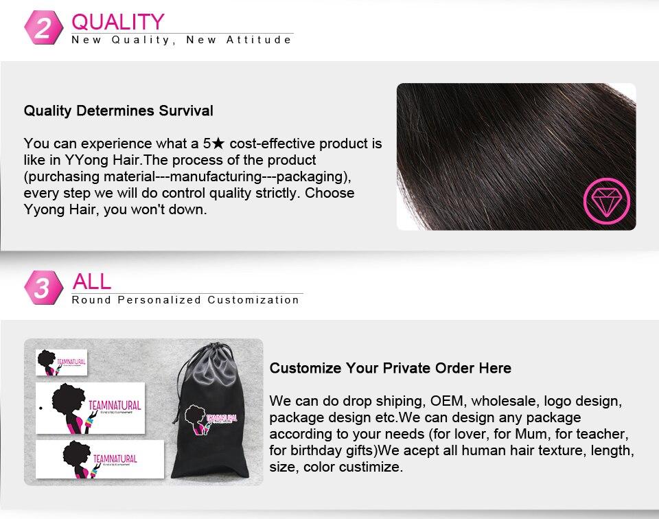 pacotes 14-30 pacotes brasileiros do cabelo humano