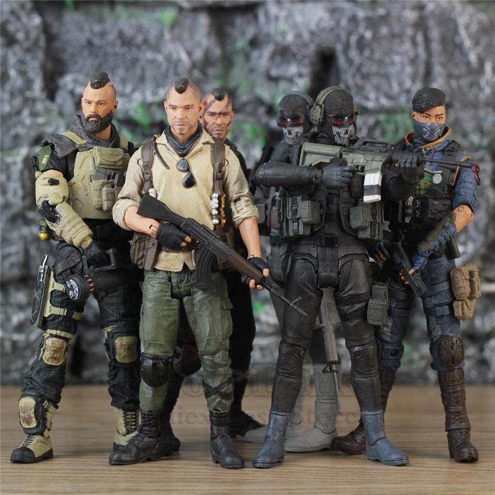 COD Call Duty-figuras de acción de Black Ops 4 PS4, juego de...