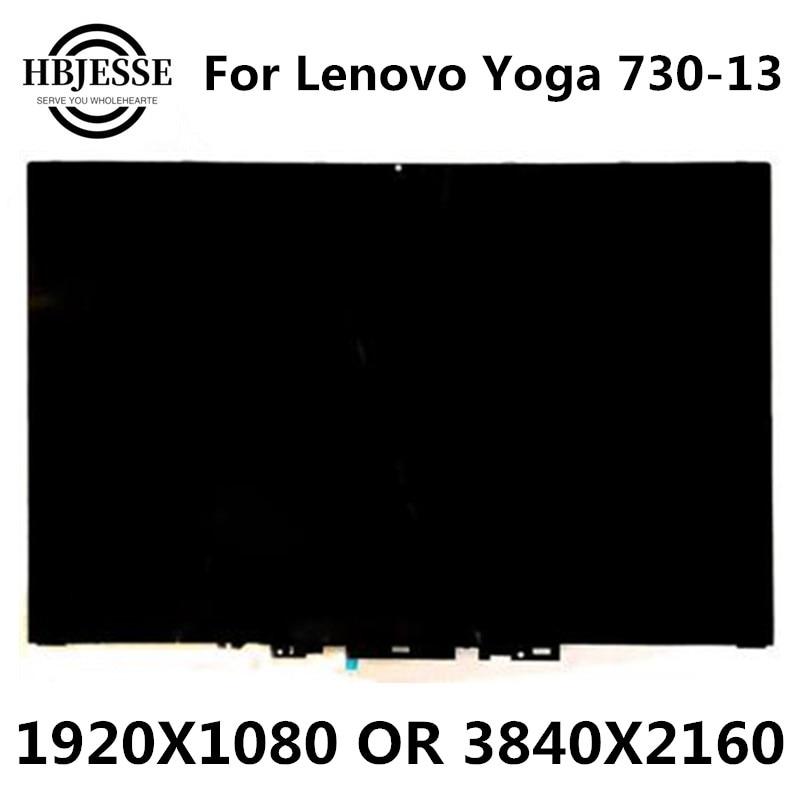 الأصلي والجديد 13.3 'لينوفو يوغا 730 13 اليوغا 730-13IKB اليوغا 730-13 شاشة LCD تعمل باللمس محول الأرقام الجمعية FHD أو UHD