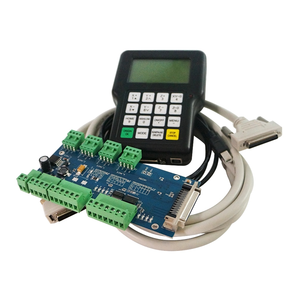 RZNC 0501 DSP Controller 3 Axis 0501 System For Cnc Router DSP0501 HKNC 0501HDDC Handle Remote English Version Manual enlarge